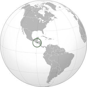El Salvador on map