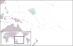Marshall Islands on map