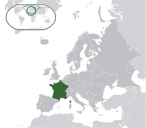 France on map